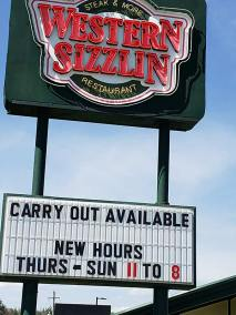 Photo of the Western Sizzlin'