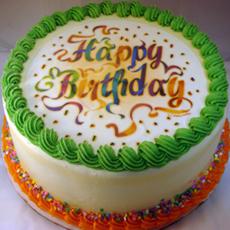 a01 happy birthday edible