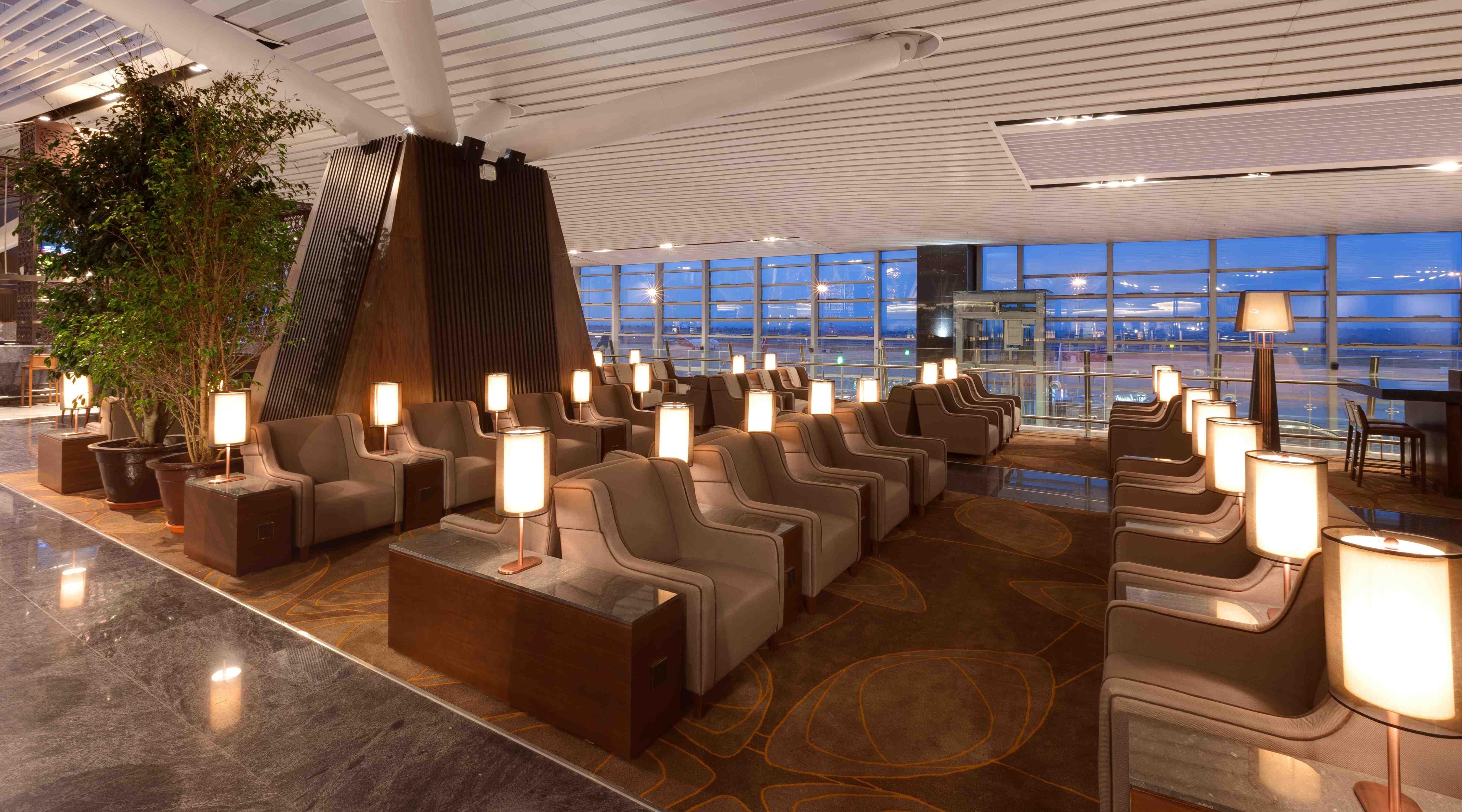 Plaza Premium Lounge  Mitchel Squires  Associates