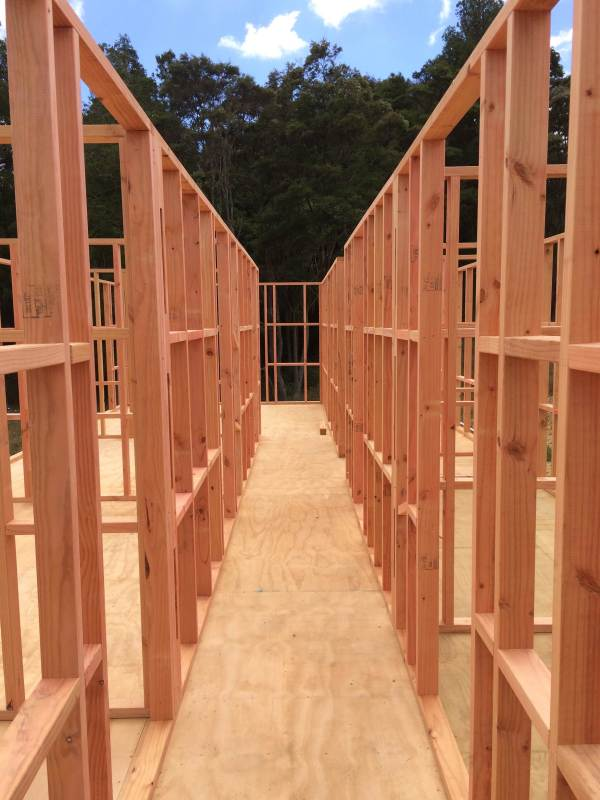 Timber Frame Construction Framing
