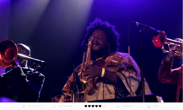 """Kamasi Washington: The Rhythm Changes,"" a Film by B+"