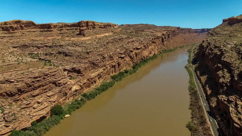 Colorado River drone photo 2