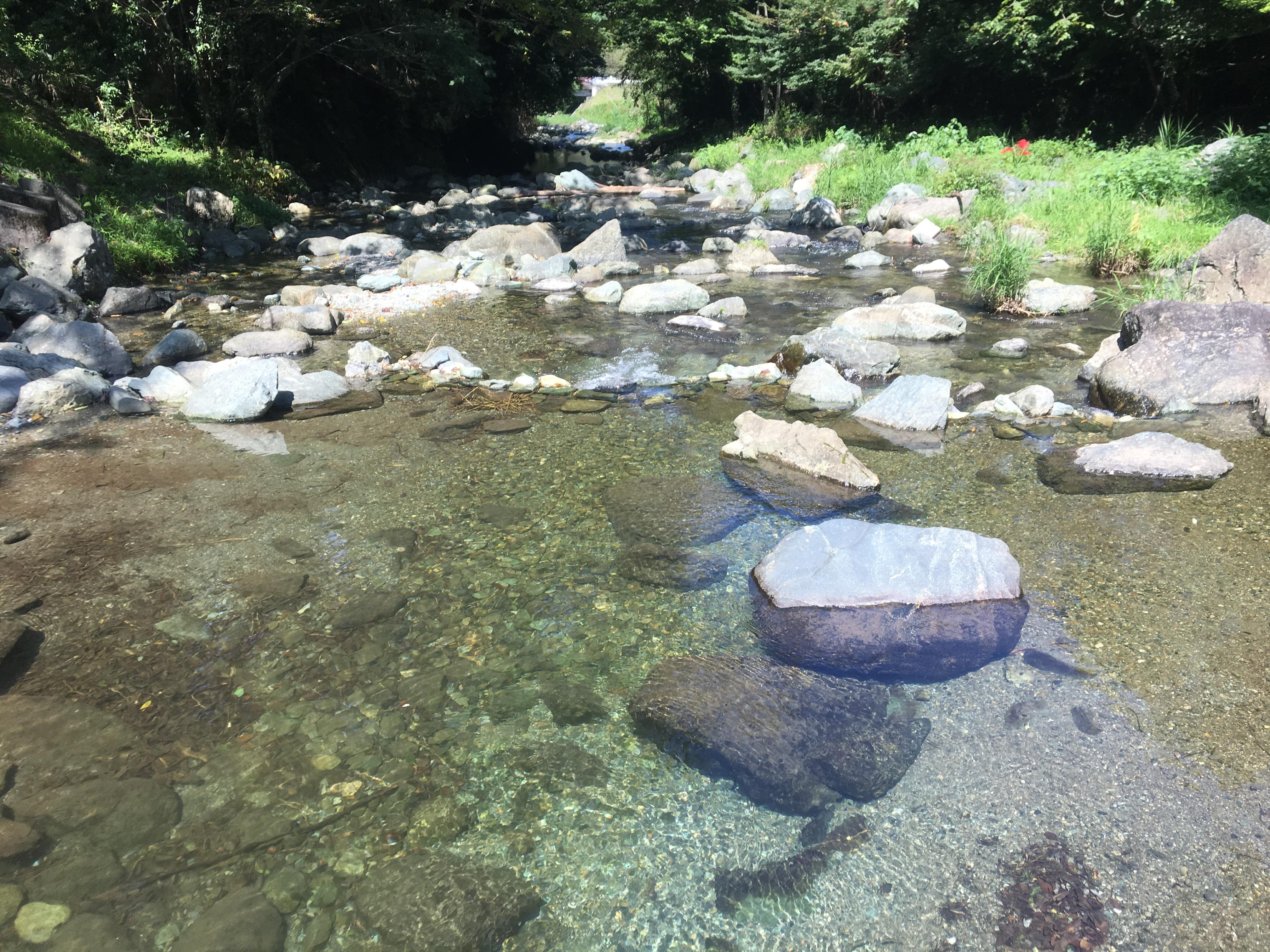 カールがなくなるから、埼玉の「おらが村」東秩父村に行ってみた③ ヤマメの里公園でひと休み