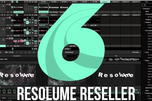 Resolume Reseller