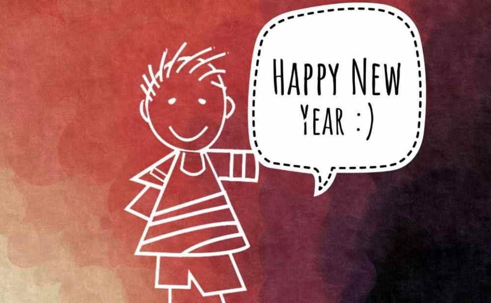 Happy New Year Kartun 38