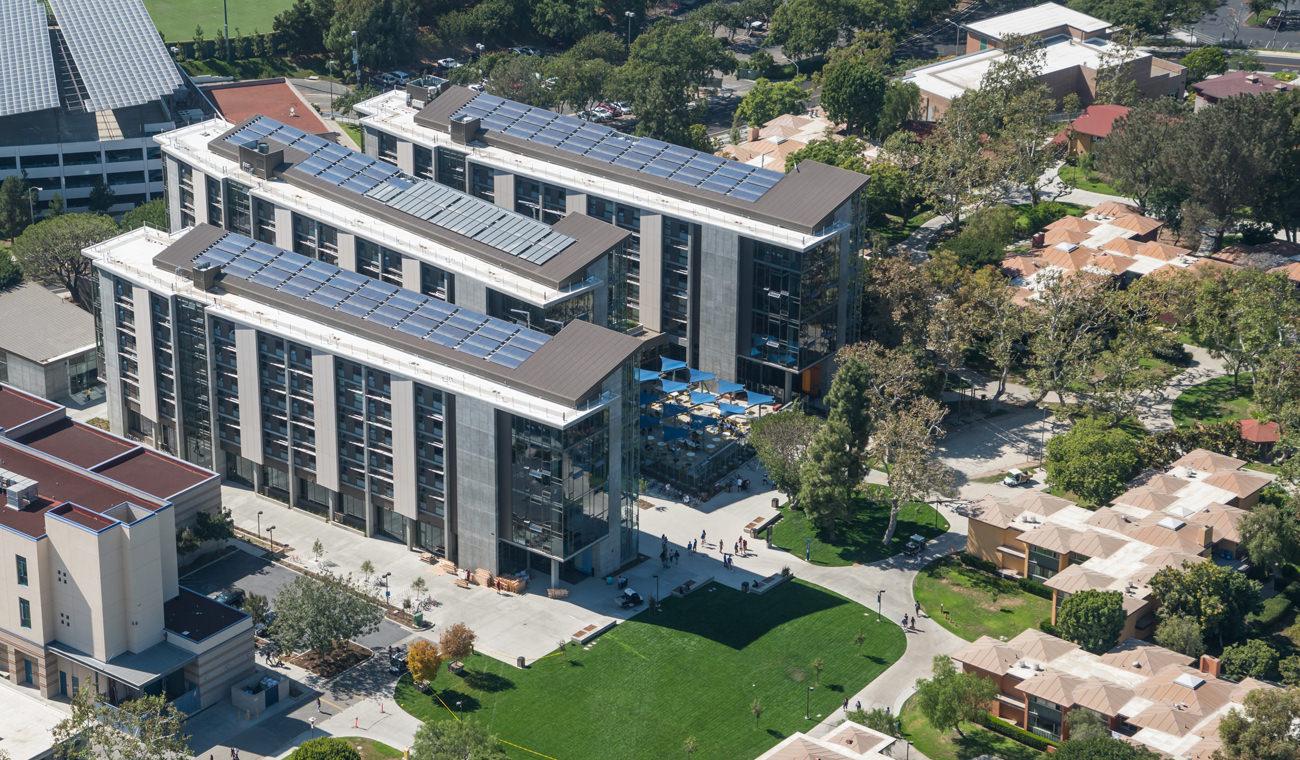 UC Irvine Mesa Court Towers Opens to Freshmen  Mithun