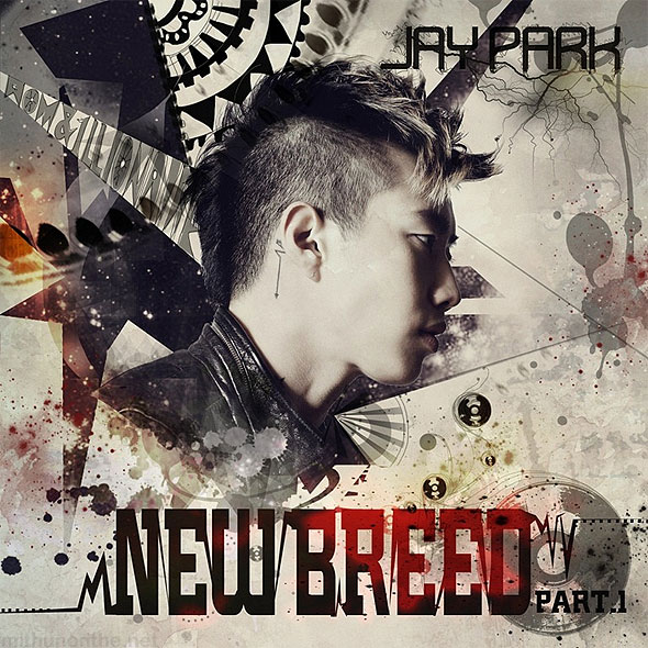 Jay Park New Breed part 1 album cover korean pop