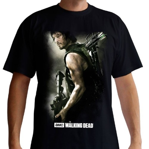 t-shirt di deryl dixon the walking dead
