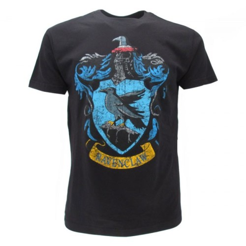 T-Shirt Stemma Casata Corvonero Harry Potter