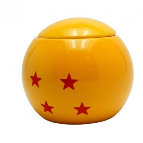 Tazza 3D sfera del drago 4 stelle Dragon Ball