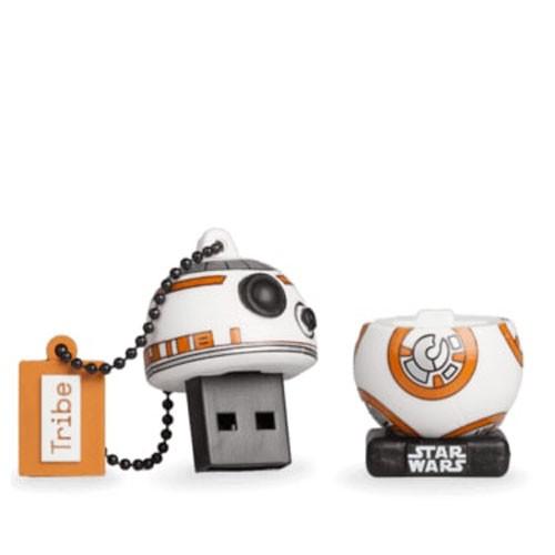 penna usb BB-8 restyling Star Wars aperta