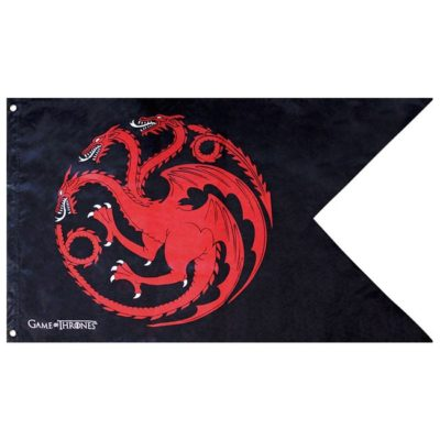 Bandiera Targaryen Game of Thrones