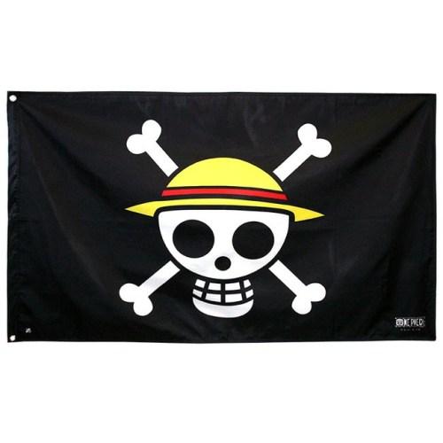Bandiera One Piece Ciurma Cappello di Paglia