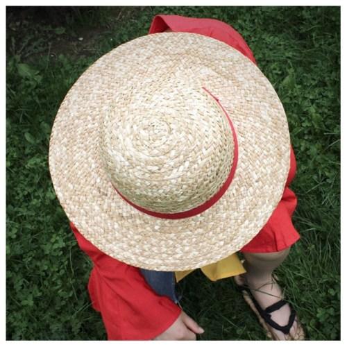 cappello di paglia rubber one piece model