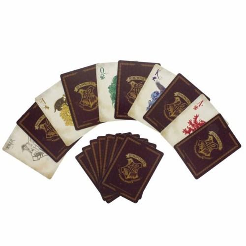 carte da gioco hogwarts harry potter dettaglio carte