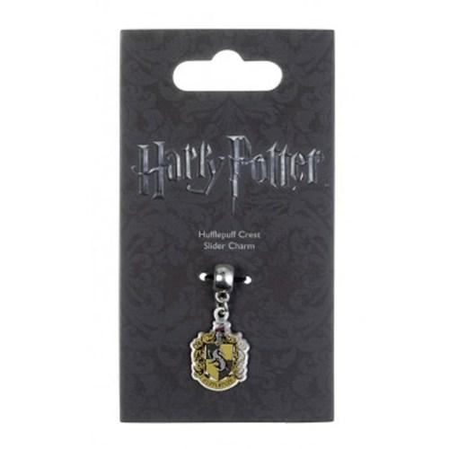 Charm Pendente Stemma Casata Tassorosso Harry Potter confezione