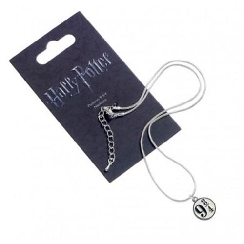 Collana con pendente Platform 934 Harry Potter confezione