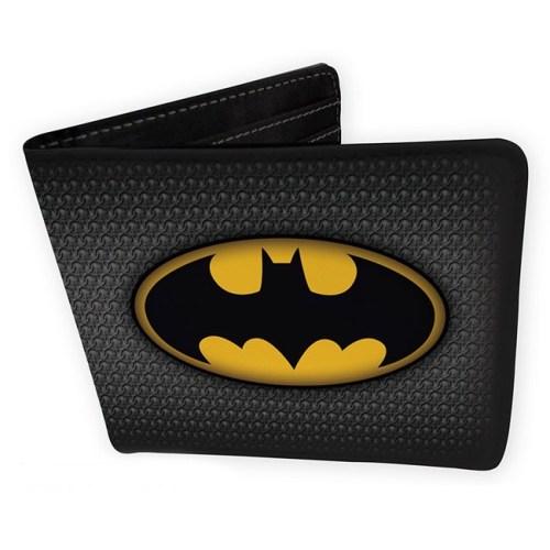 Portafoglio di Batman con logo classico DC Comics