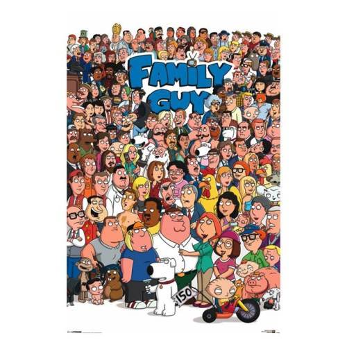 Poster Griffin Family Guy