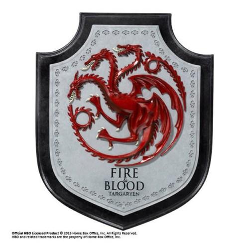 Stemma dei Targaryen Game of Thrones in pietra