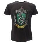 T-Shirt Stemma Casata Serpeverde Harry Potter