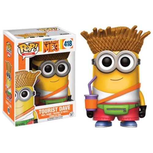 Funko Pop Tourist Dave Minion 418