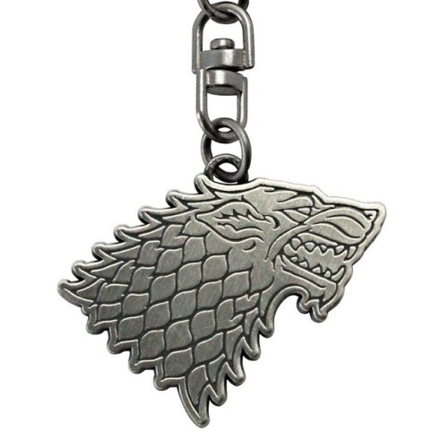 Portachiavi Game of Thrones Stark dettaglio