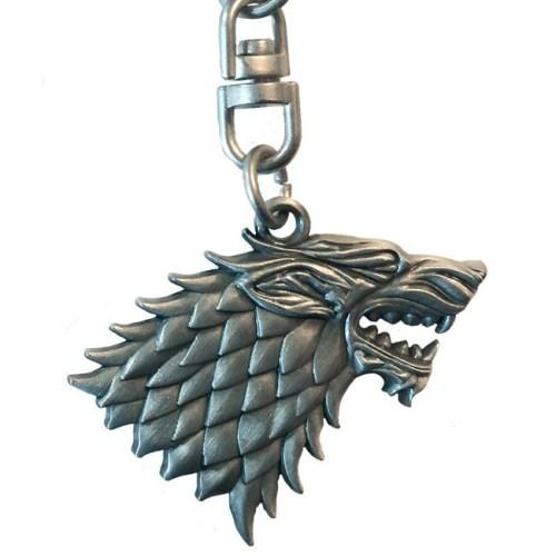 Portachiavi Game of Thrones Stark 3D dettaglio