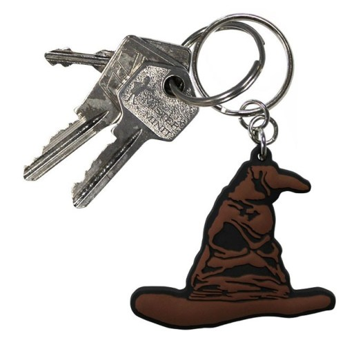 Portachiavi Harry Potter Cappello Parlante in gomma dettaglio chiavi