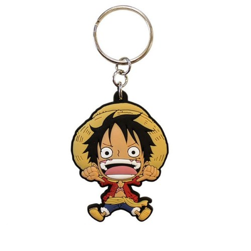 Portachiavi One Piece Rubber in gomma