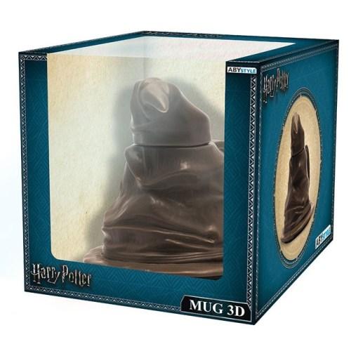 Tazza 3D Cappello Parlante Harry Potter confezione