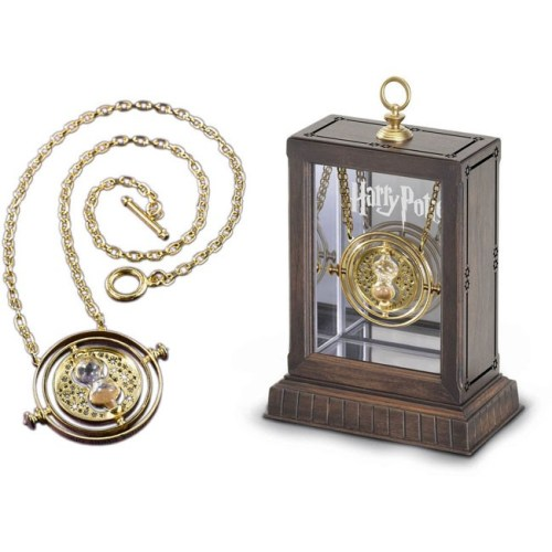 Collana Giratempo con teca espositiva Harry Potter