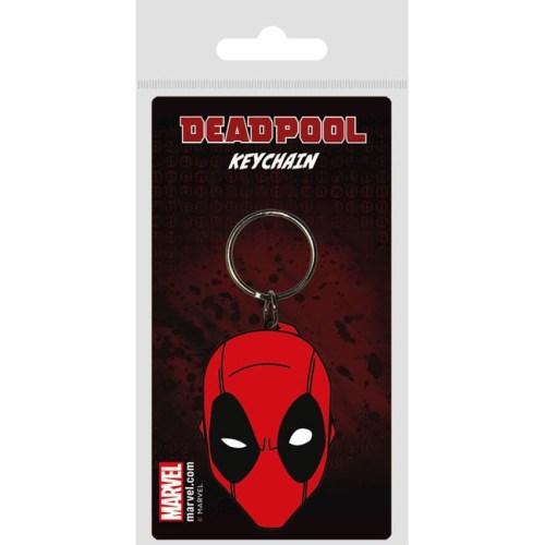 Portachiave Deadpool volto