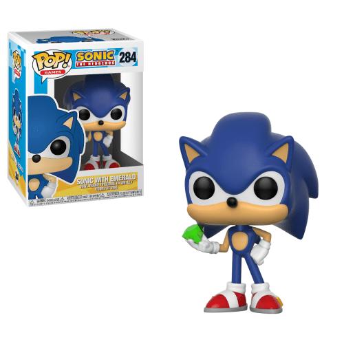 Funko -Pop Sonic with emerald 284