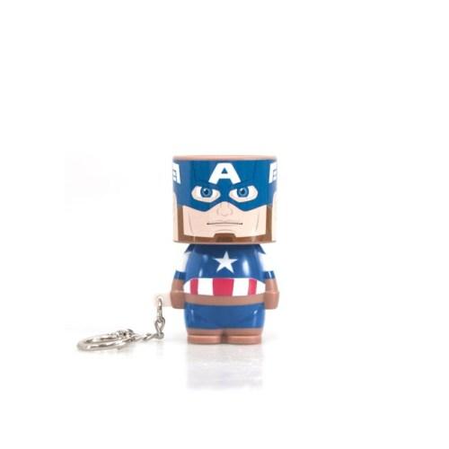 Portachiavi Capitan America torcia tascabile marvel