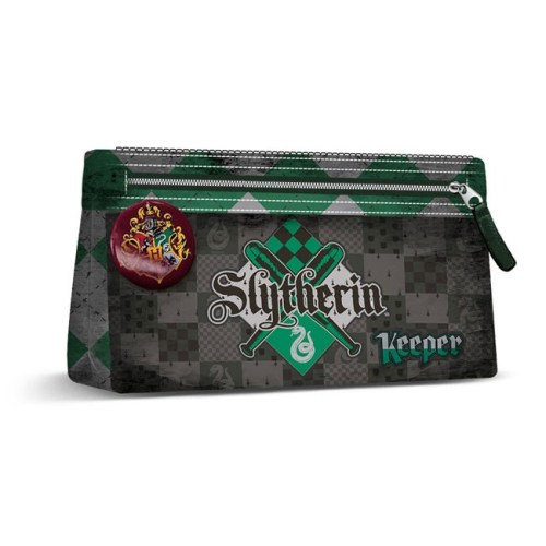 astuccio grande Serpeverde quidditch harry potter