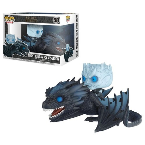funko pop Night King and Icy Viserion Game of Thrones 58