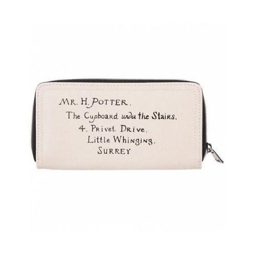 portafoglio donna lettera di Hogwarts Harry Potter retro