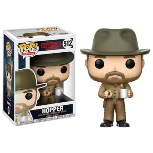 funko pop Hopper Stranger things 512