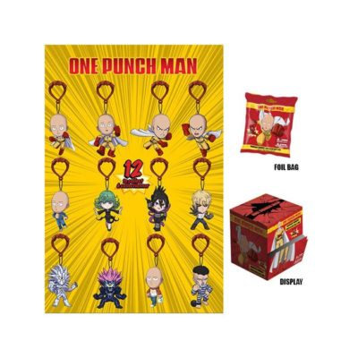 mystery mini personaggi con gancio one punch man