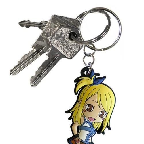 portachiave Lucy Fairy tail dettaglio chiavi