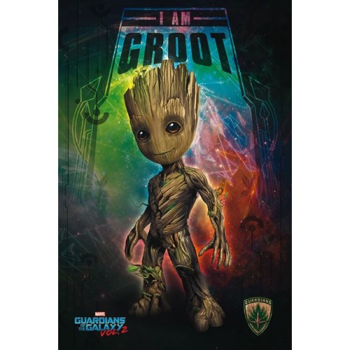 poster i am groot guardiani della galassia