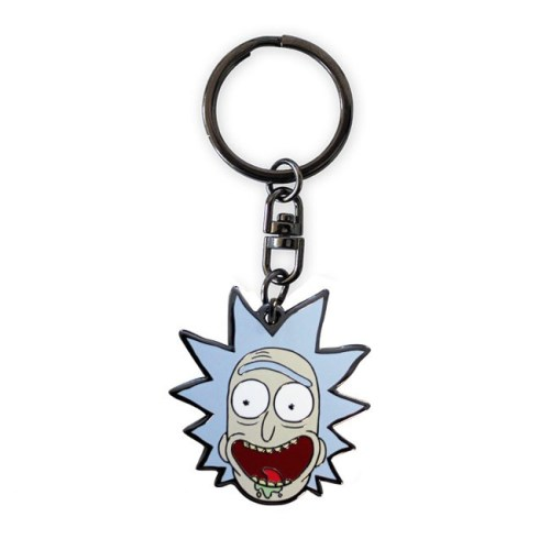 portachiavi rick rick and morty