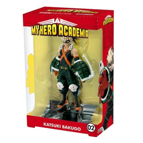 action figure Katsuki Bakugo my hero academia scatola