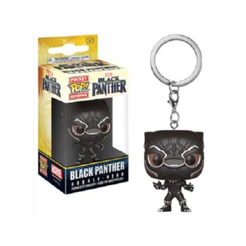 funko pop pocket keychain black panter marvel