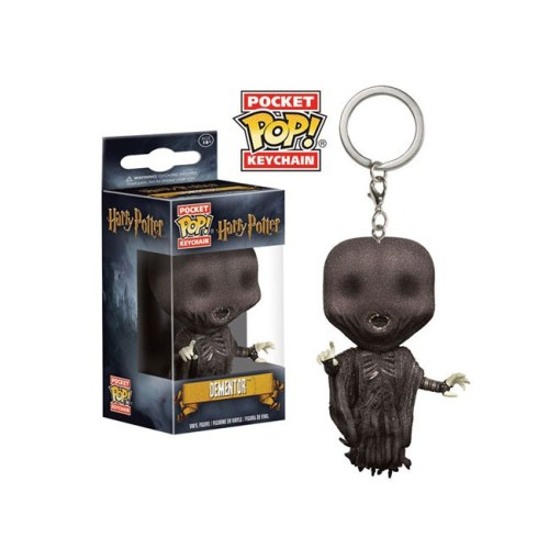 funko pop pocket keychain dementor harry potter
