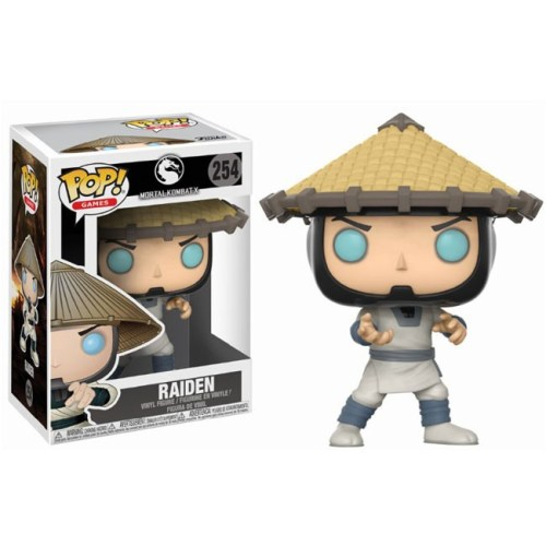 funko pop raiden mortal kombat 254