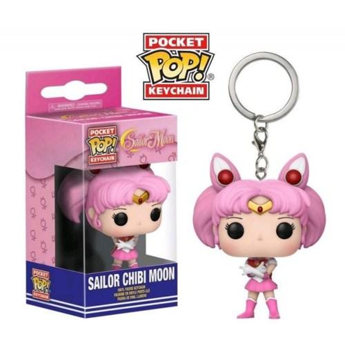 Funko Pocket Keychain Sailor Chibi Moon Sailor Moon