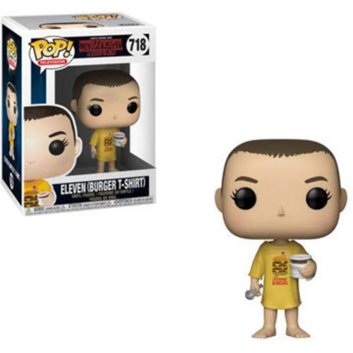 Funko Pop Eleven Burger T Shirt Stranger Things 718