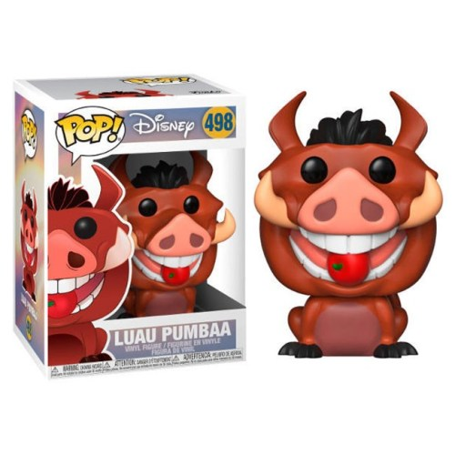 Funko Pop Luau Pumbaa the lion King Disney 498